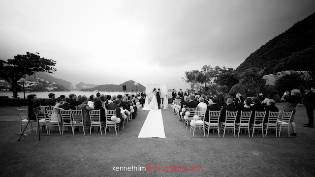 Hong Kong Country Club wedding ceremony speeches