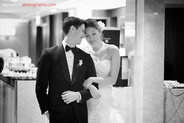 Hong Kong Country Club wedding dinner bride crying emotionally next to groom