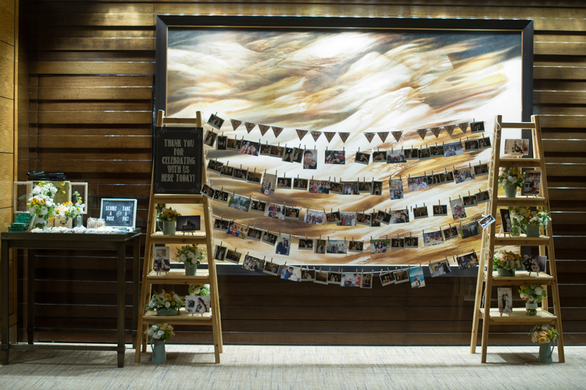Hong Kong Wedding Photography Four Seasons banquet poloroid photobooth for guests