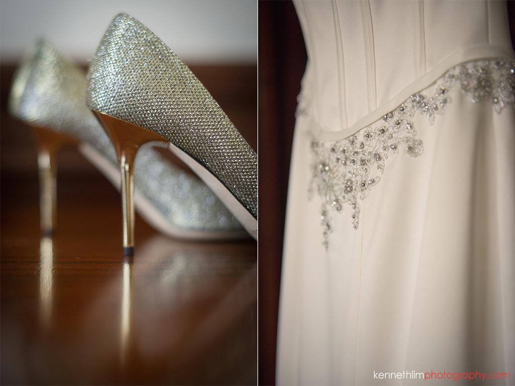 Hong Kong Island Shangri-la Atrium Library wedding day photography bride shoes wedding dress patterns