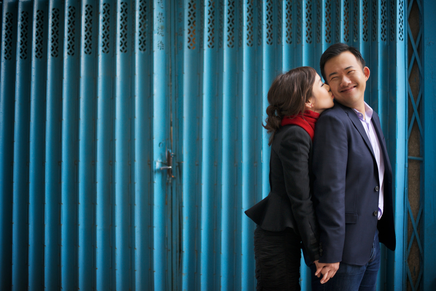 hong-kong-pre-wedding-engagement-photographer-couple-smiling-together-blue-gate-soho-central.jpg