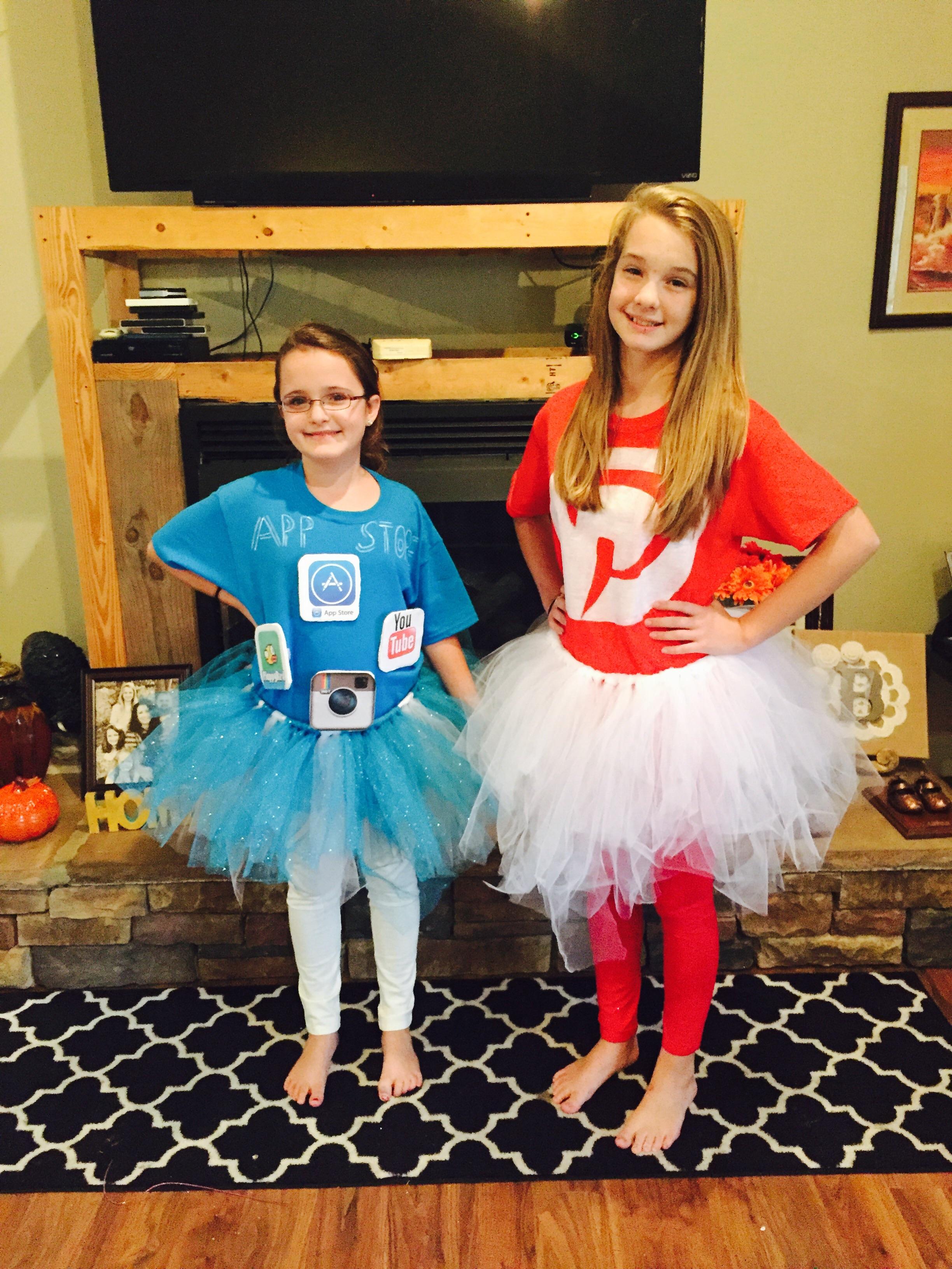 Easy DIY app Halloween Costumes!