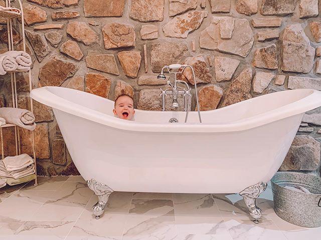 Tradition #bigboy • • • • • • • • • • • #family #love #babystyle #momlife #home #alabama #homedecor  #babylove #dadlife #mommyblogger #mommyandme #dollbaby #toddler #lightroom #retro #farmhouse #vintage #vintagefashion #sweaterweather #babymodel #dadgoals #kidlife #clawfoottub #bathroom #messylife