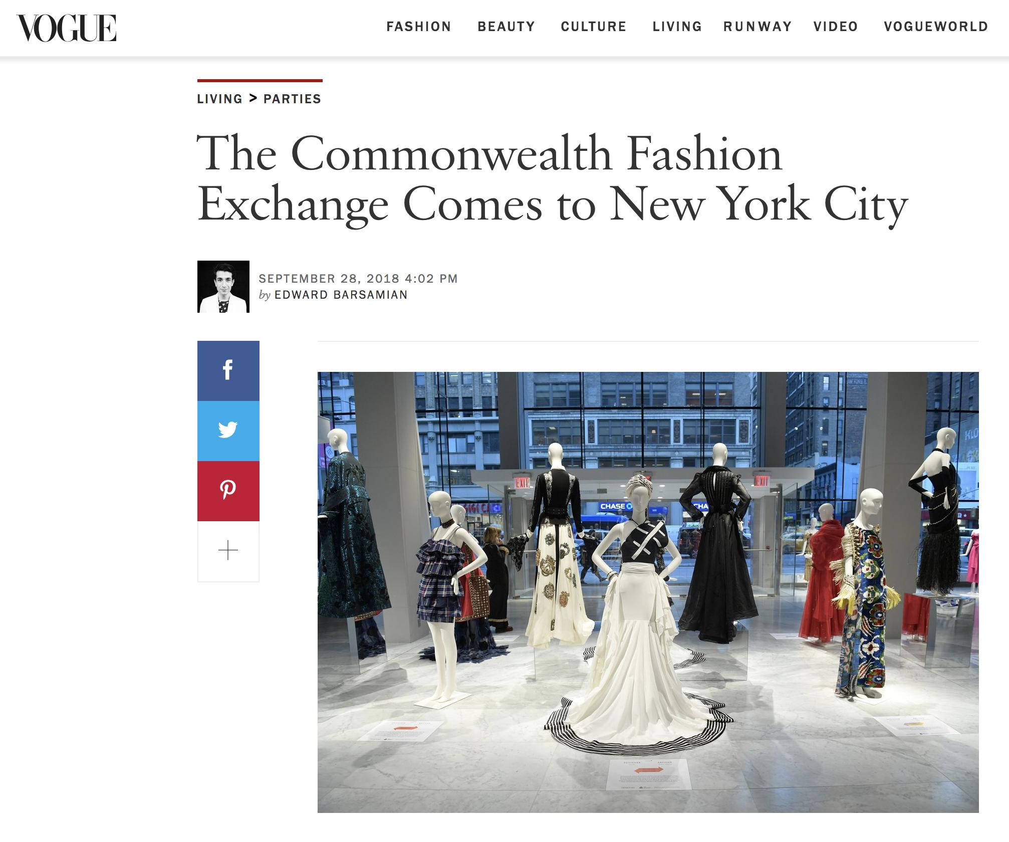 Zinzi de Brouwer Vogue Magazine