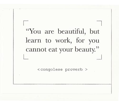 African Proverbs by Zinzi de Brouwer