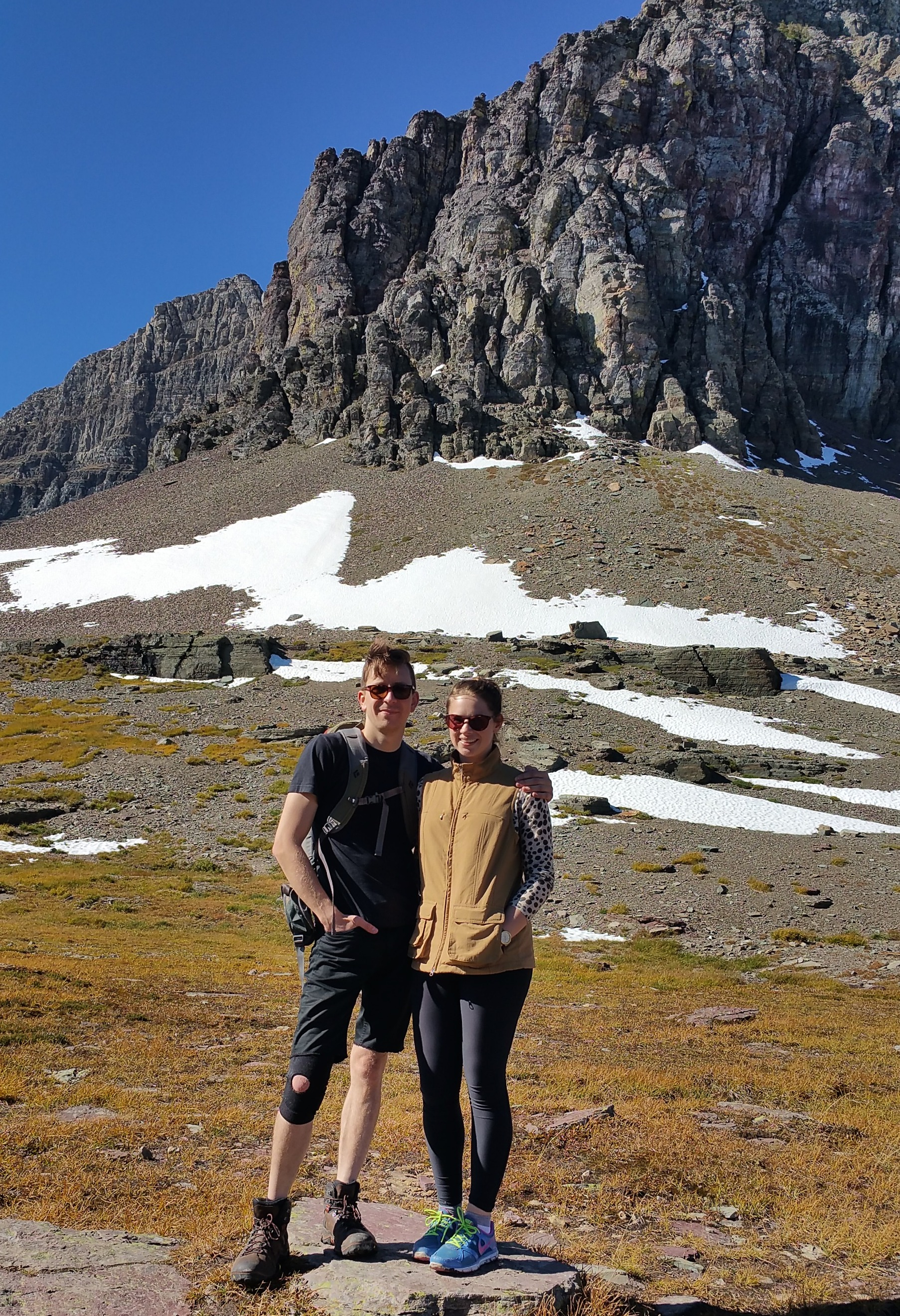 glacier-national-park-snow-hike