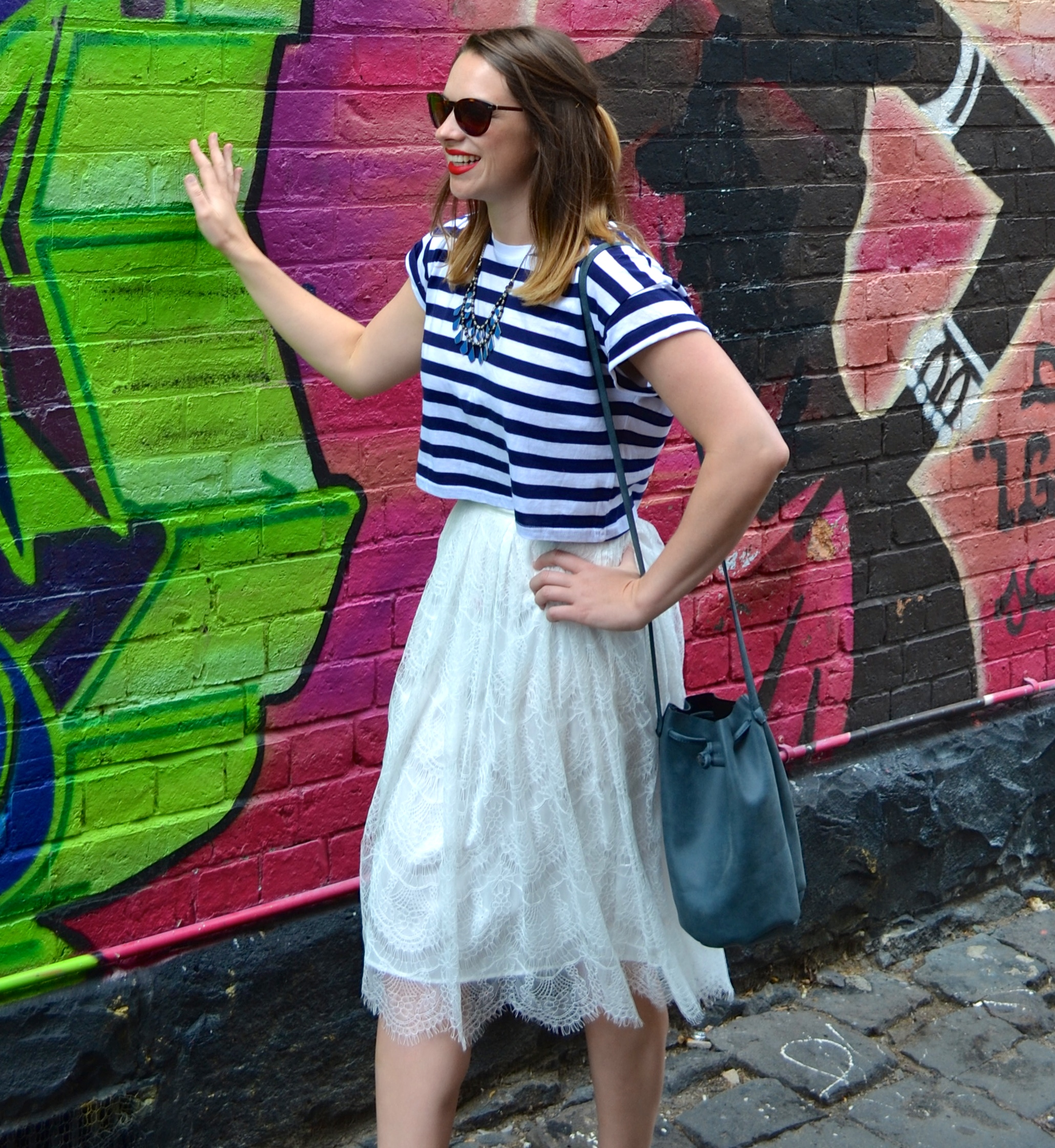 fitzroy-graffiti-lace-midi-skirt-handm-striped-top