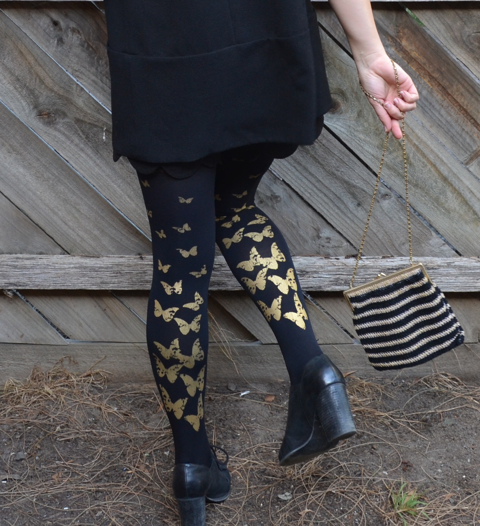 butterfly-tights-gold-and-black