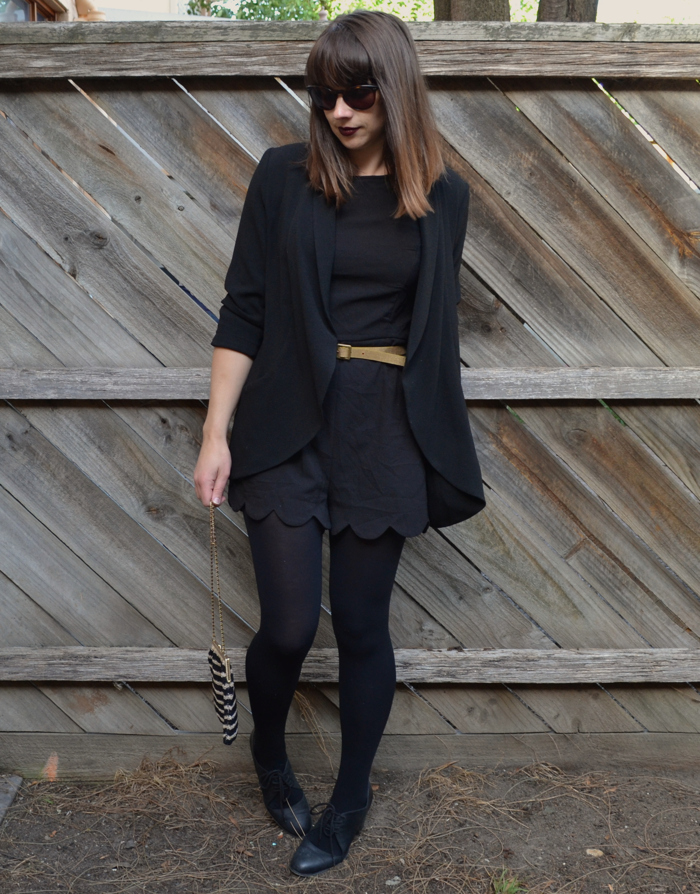 black-blazer-gold-belt