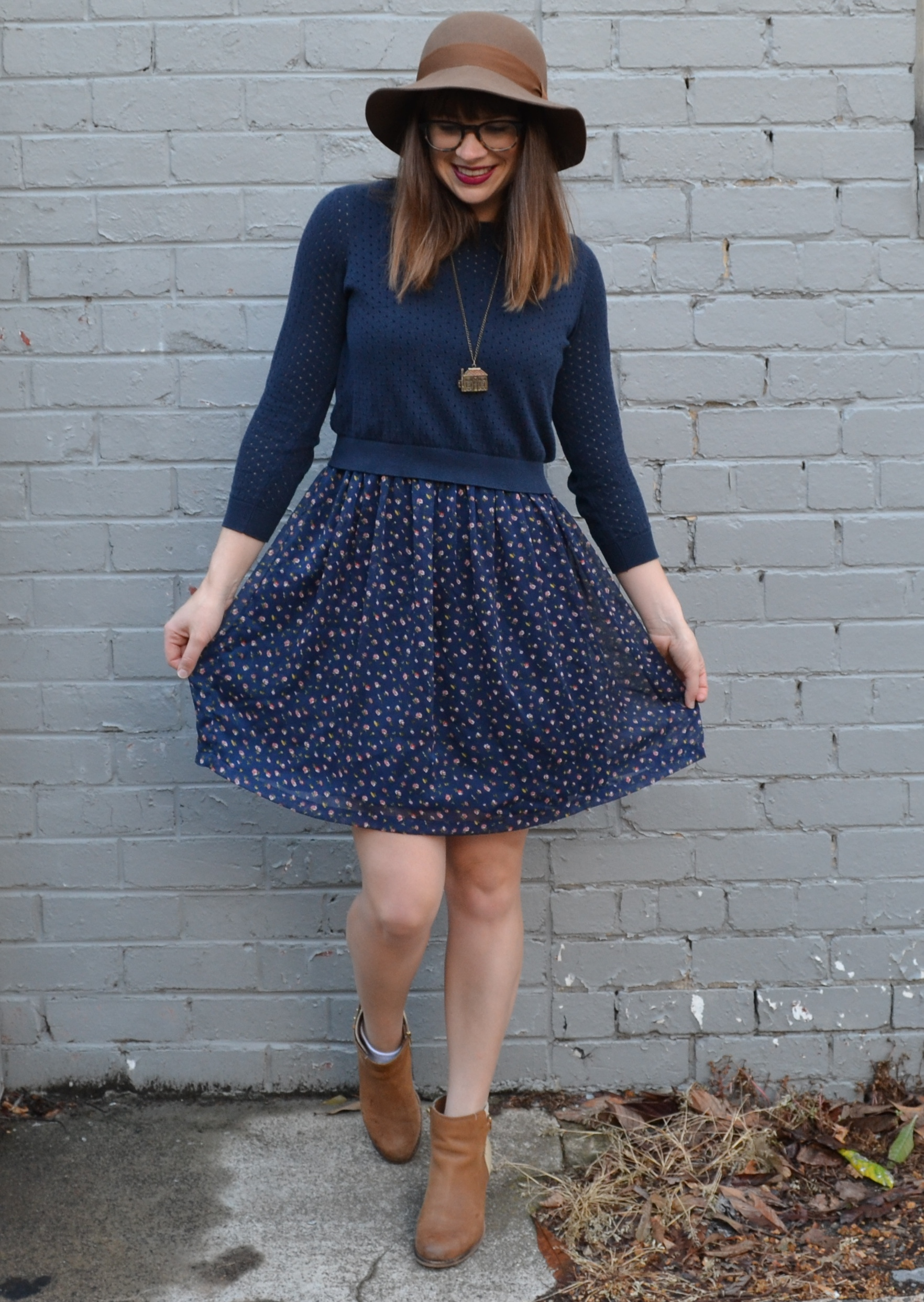 princess-highway-dress-dark-blue