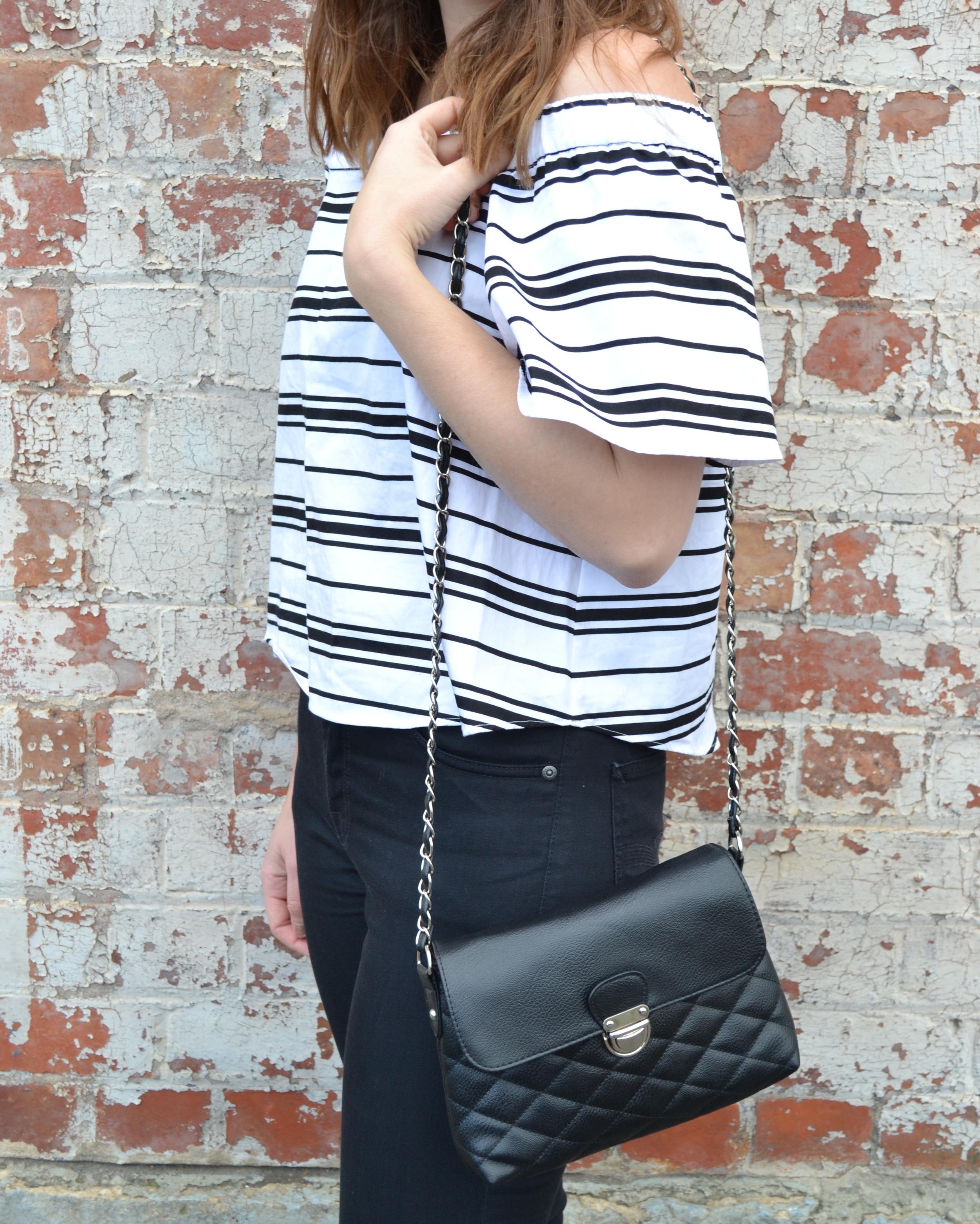 black-white-off-the-shoulder-top