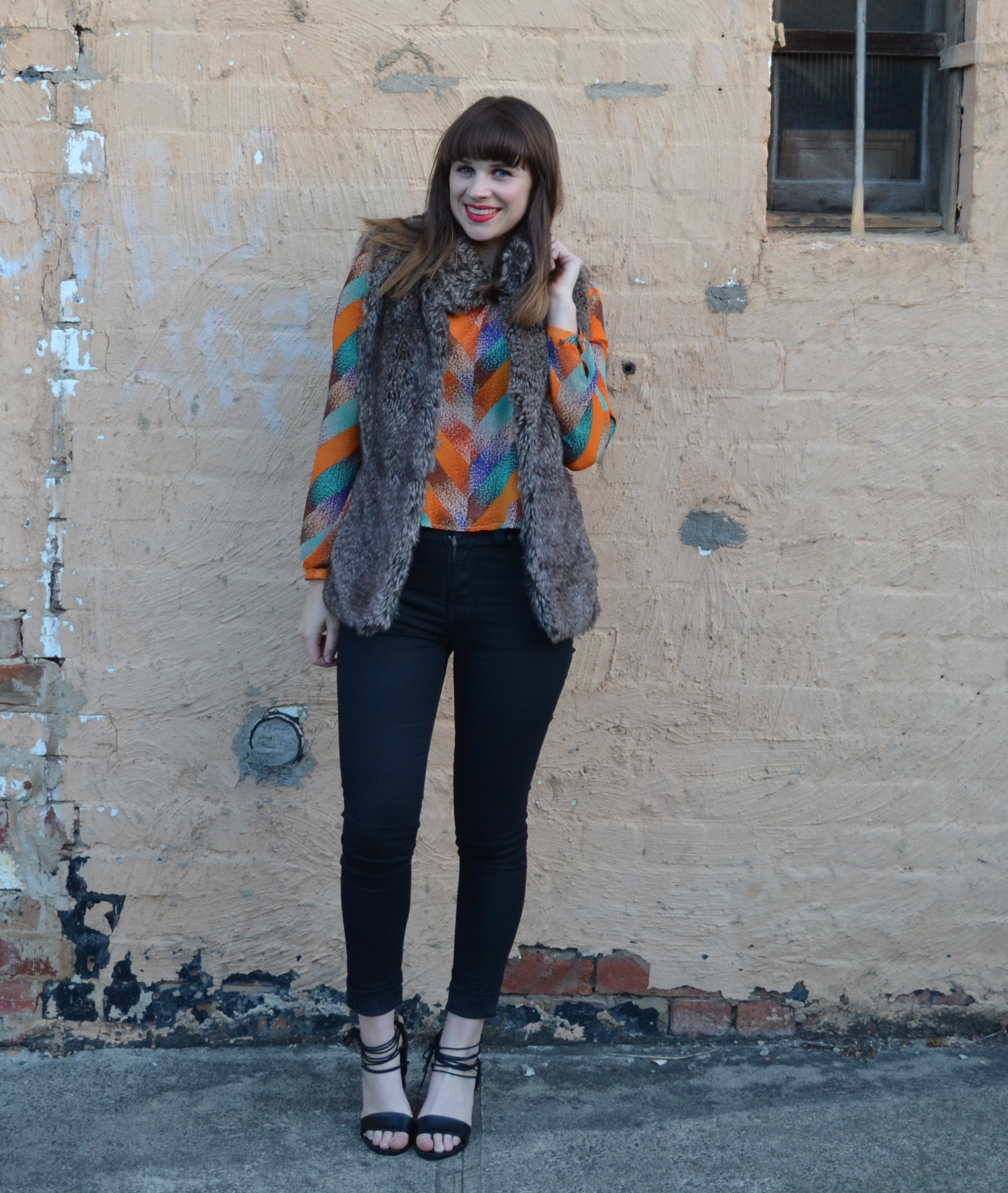 fur-vest-black-nudie-jeans-girl-heavy-bangs