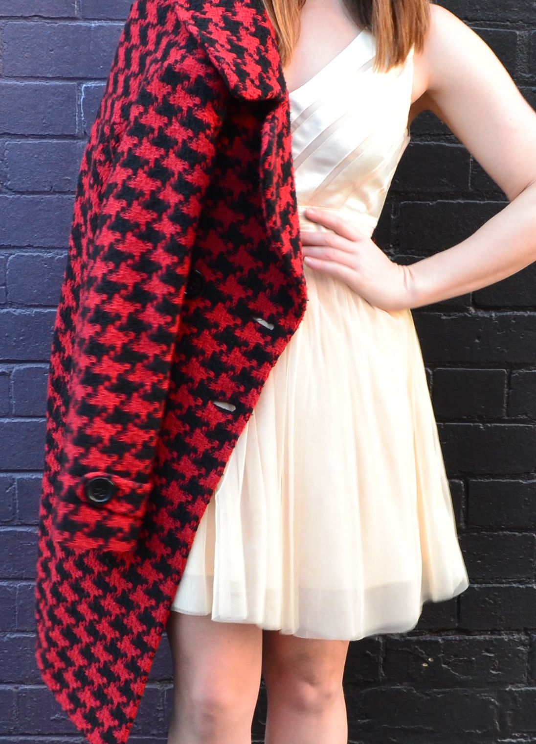 red-check-winter-coat-tulle-dress