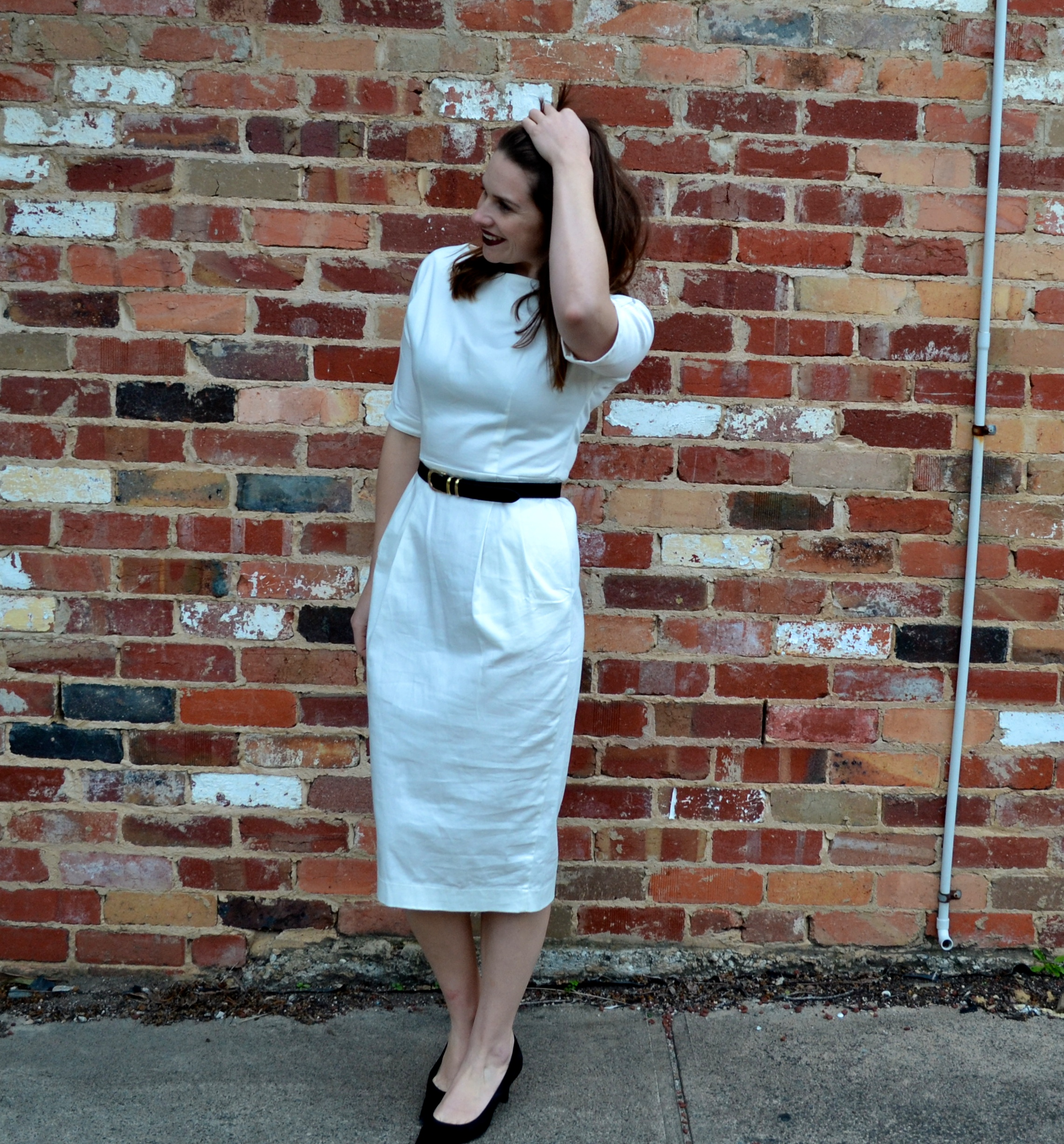 white-asos-midi-dress