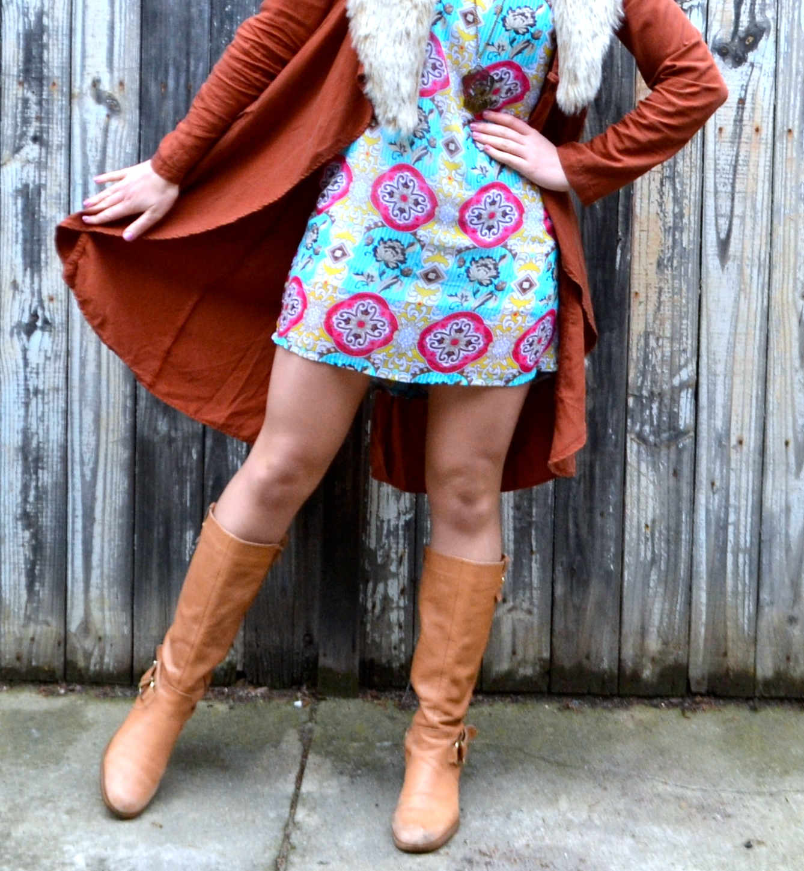 tan-boots-summer-dress