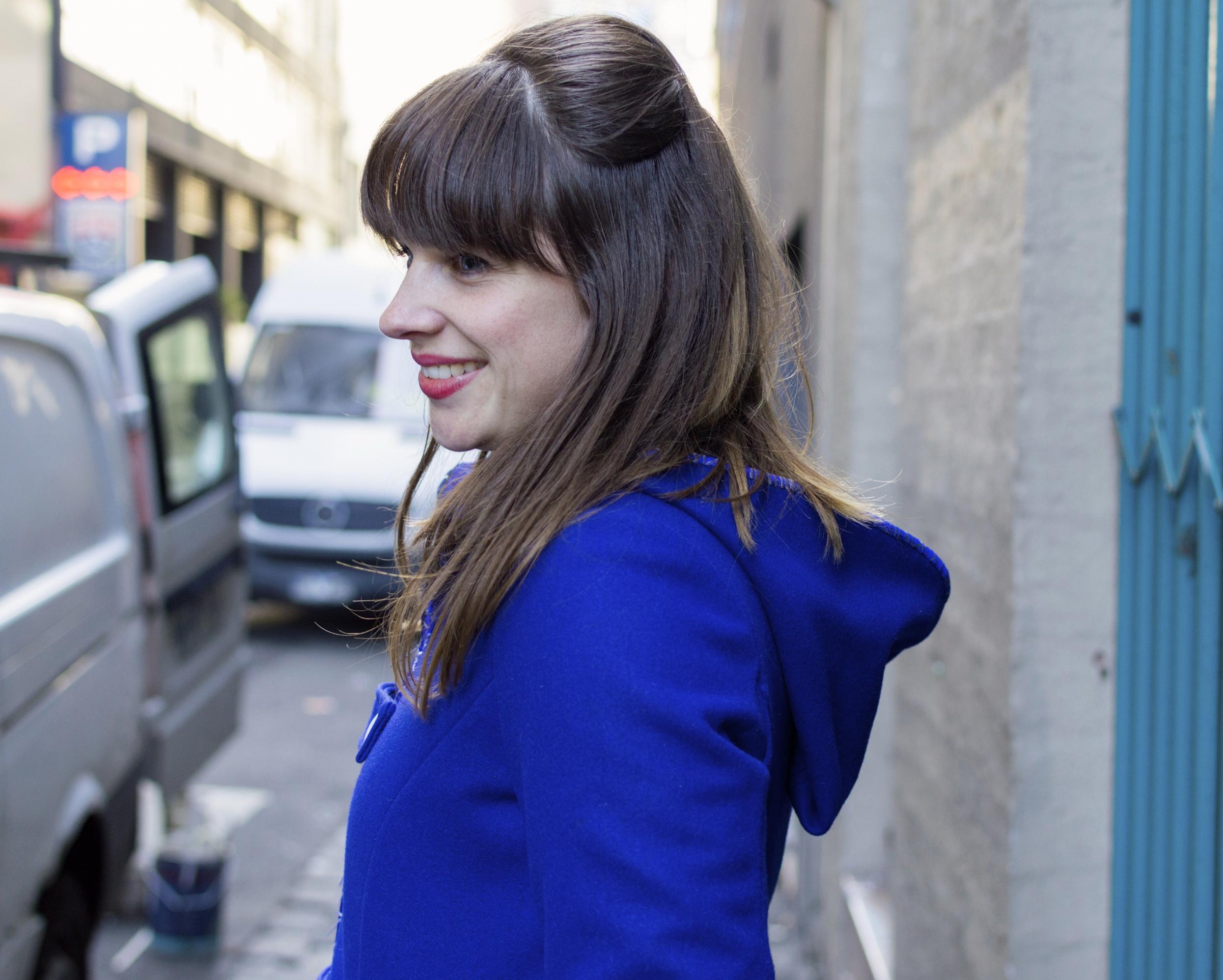 brunette-bangs-half-up