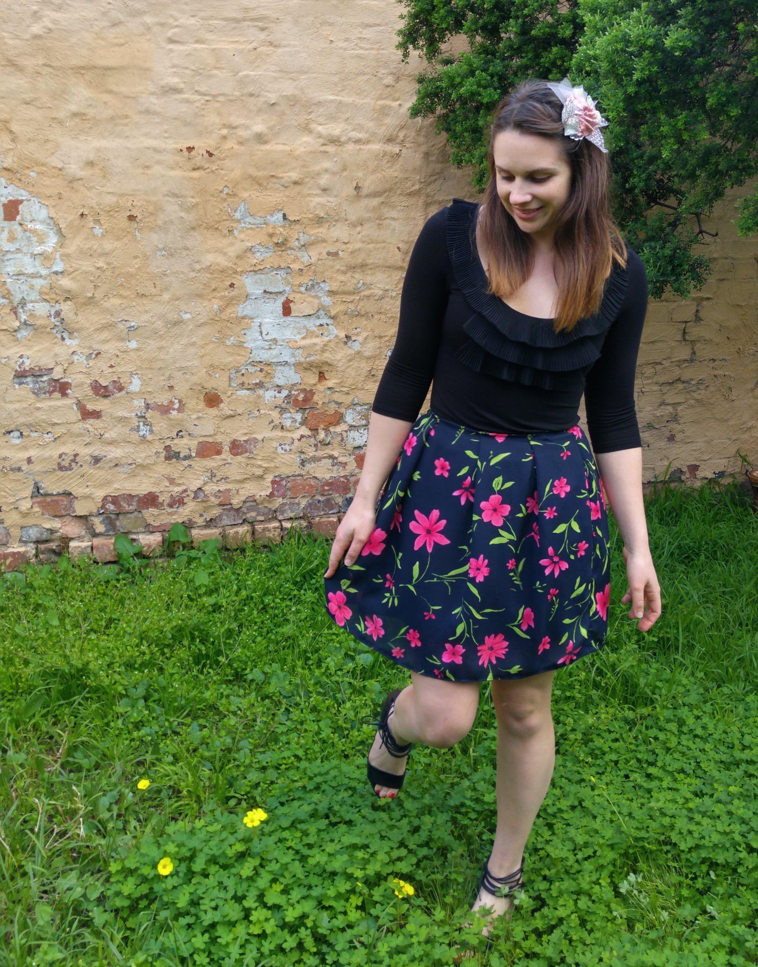 diy-floral-skirt