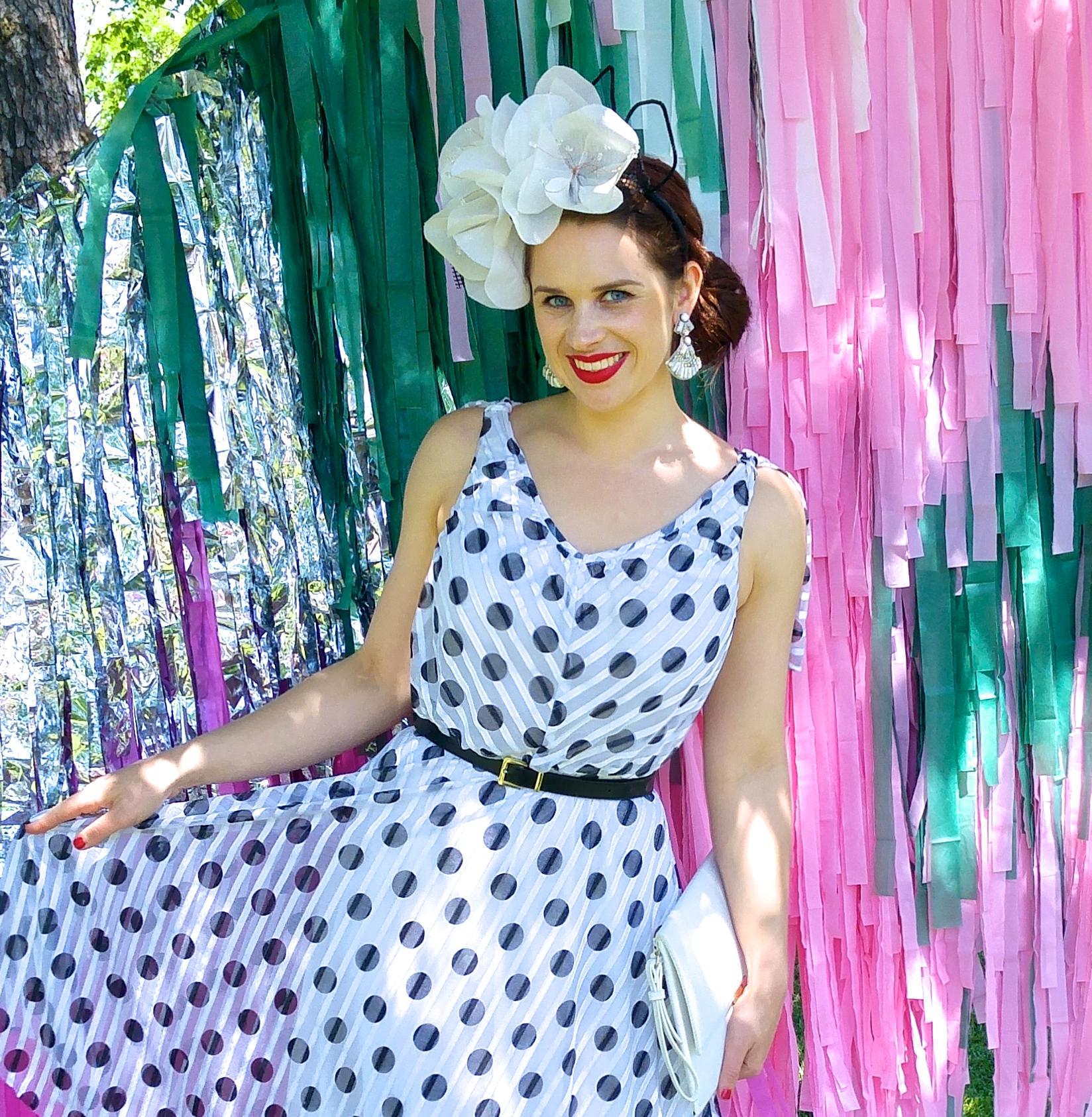 polka-dot-dress-spring-races