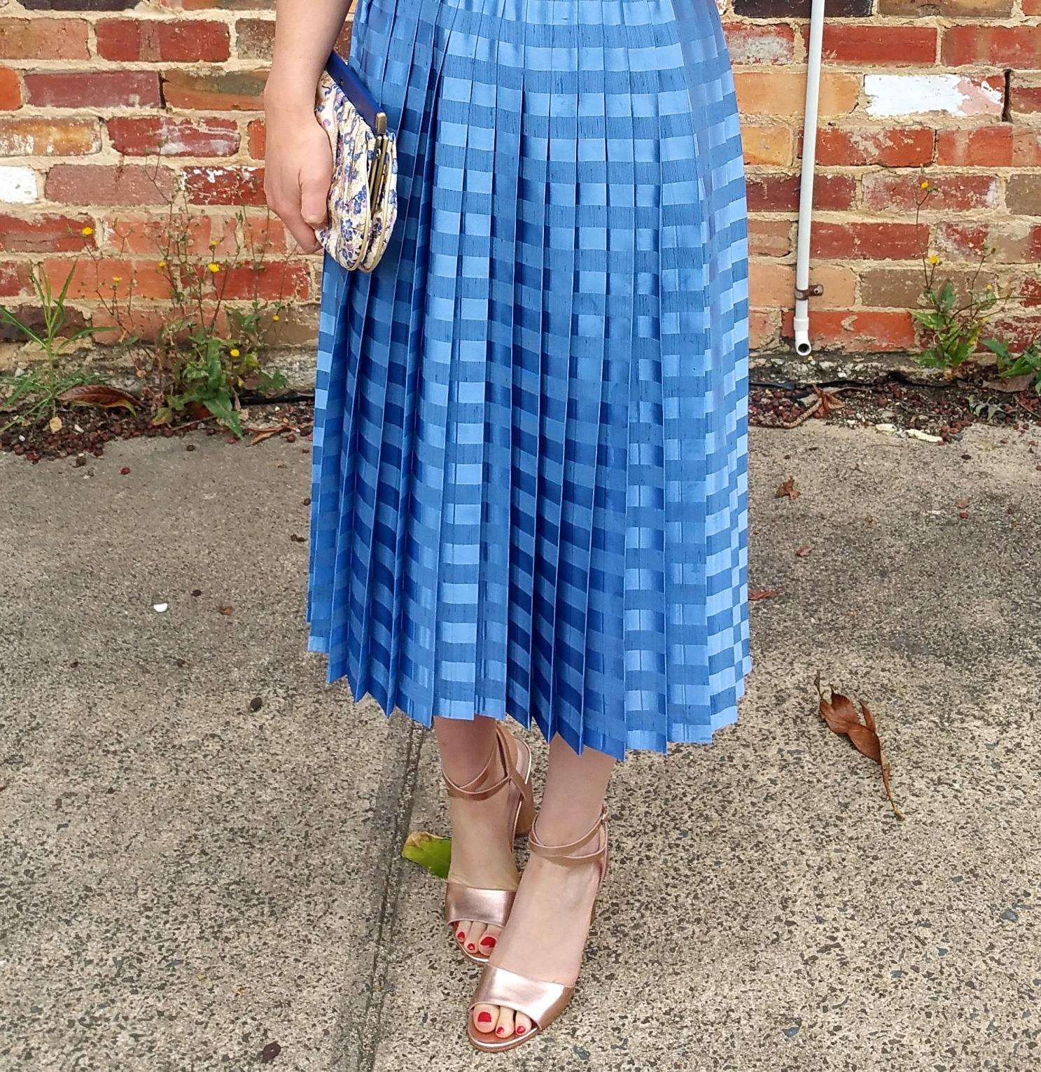 pleated-blue-skirt