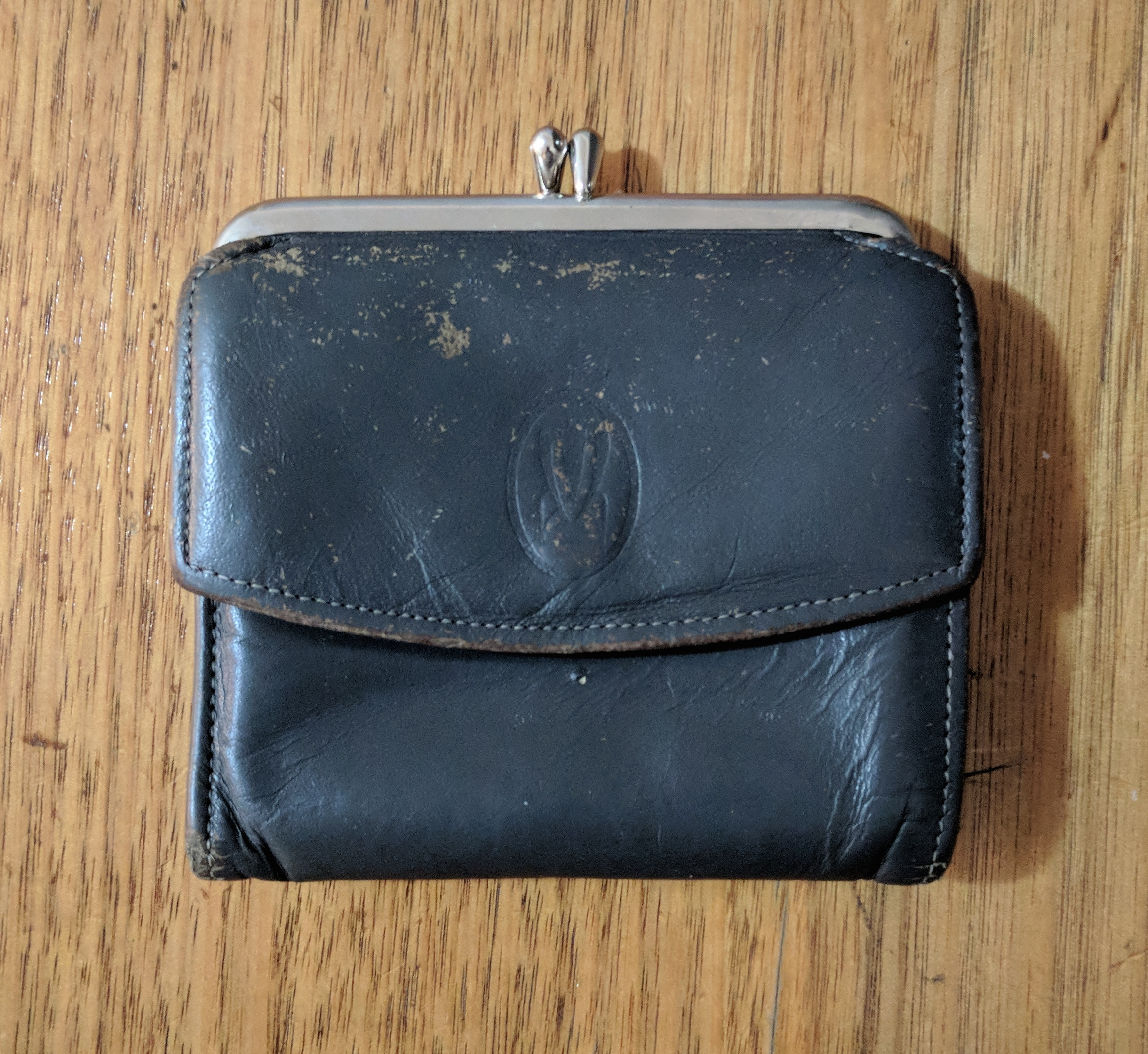 My old well used wallet