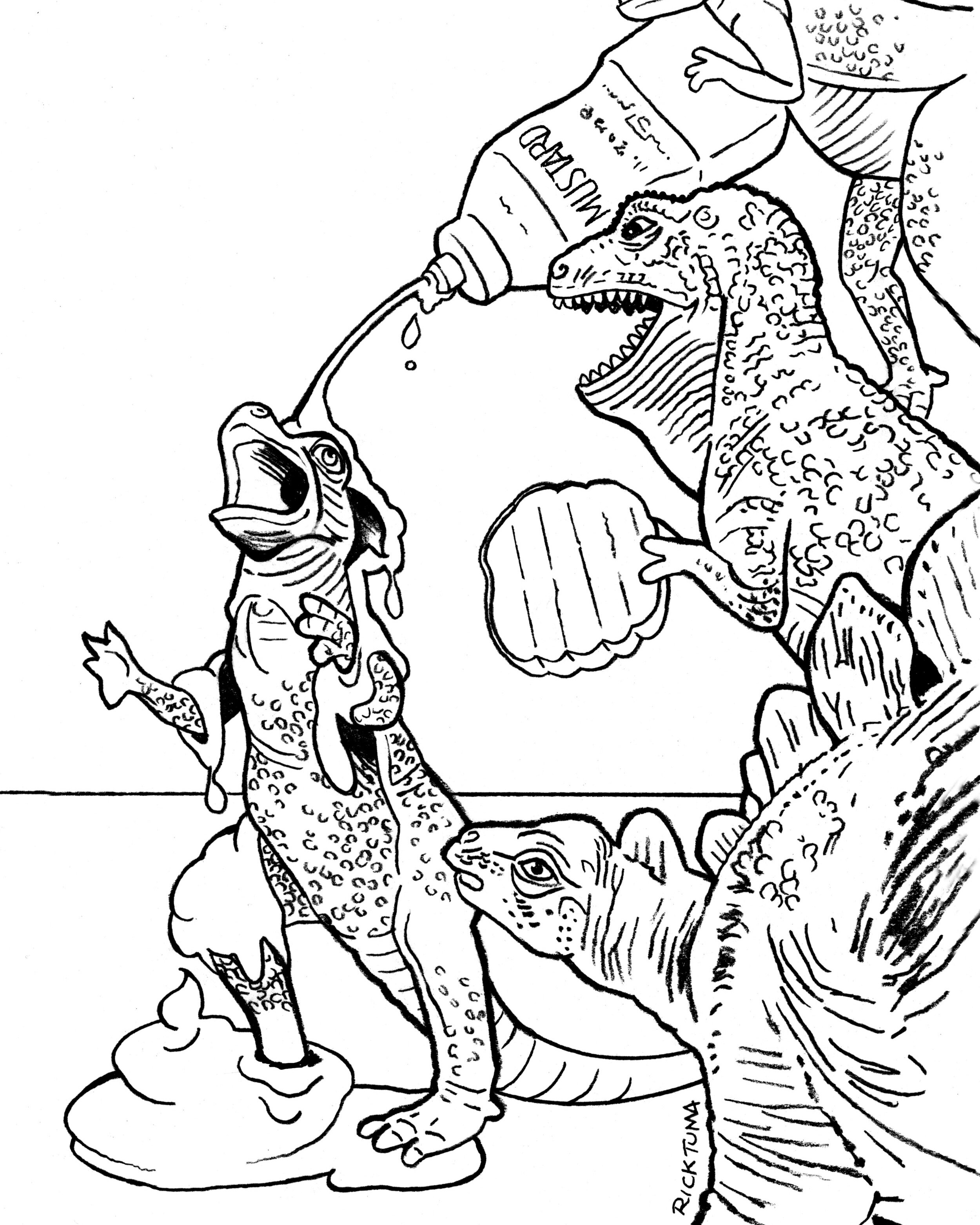 Dinosaur dot to dot | Free Printable Coloring Pages | 1250x1000