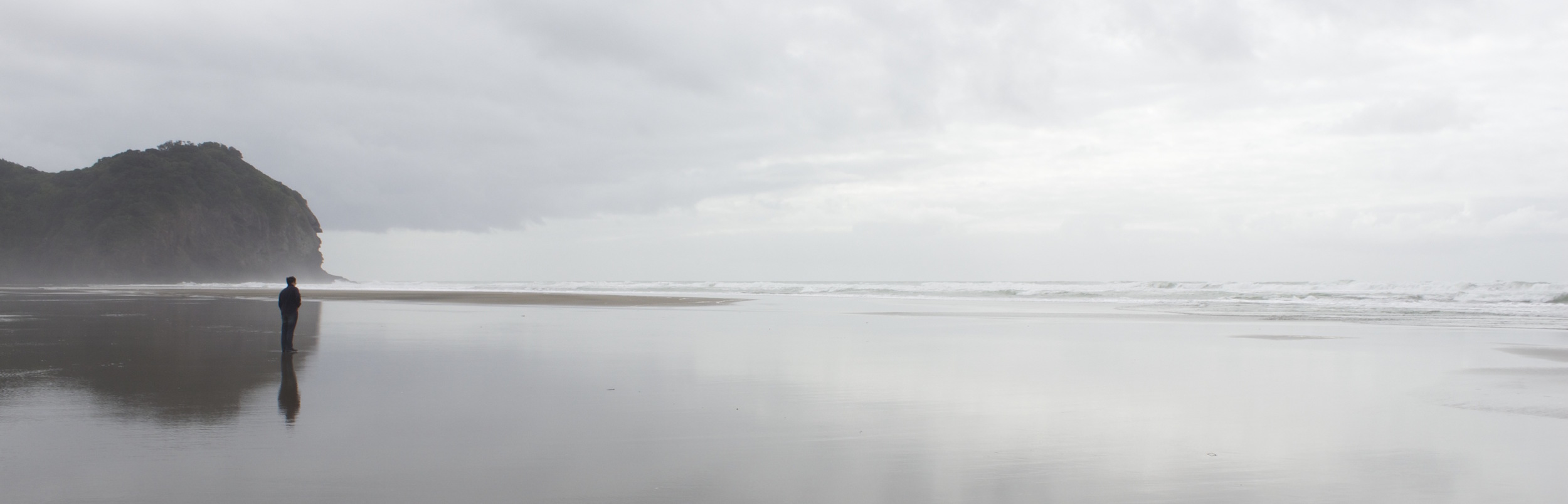 Piha Beach, New Zealand (2014)