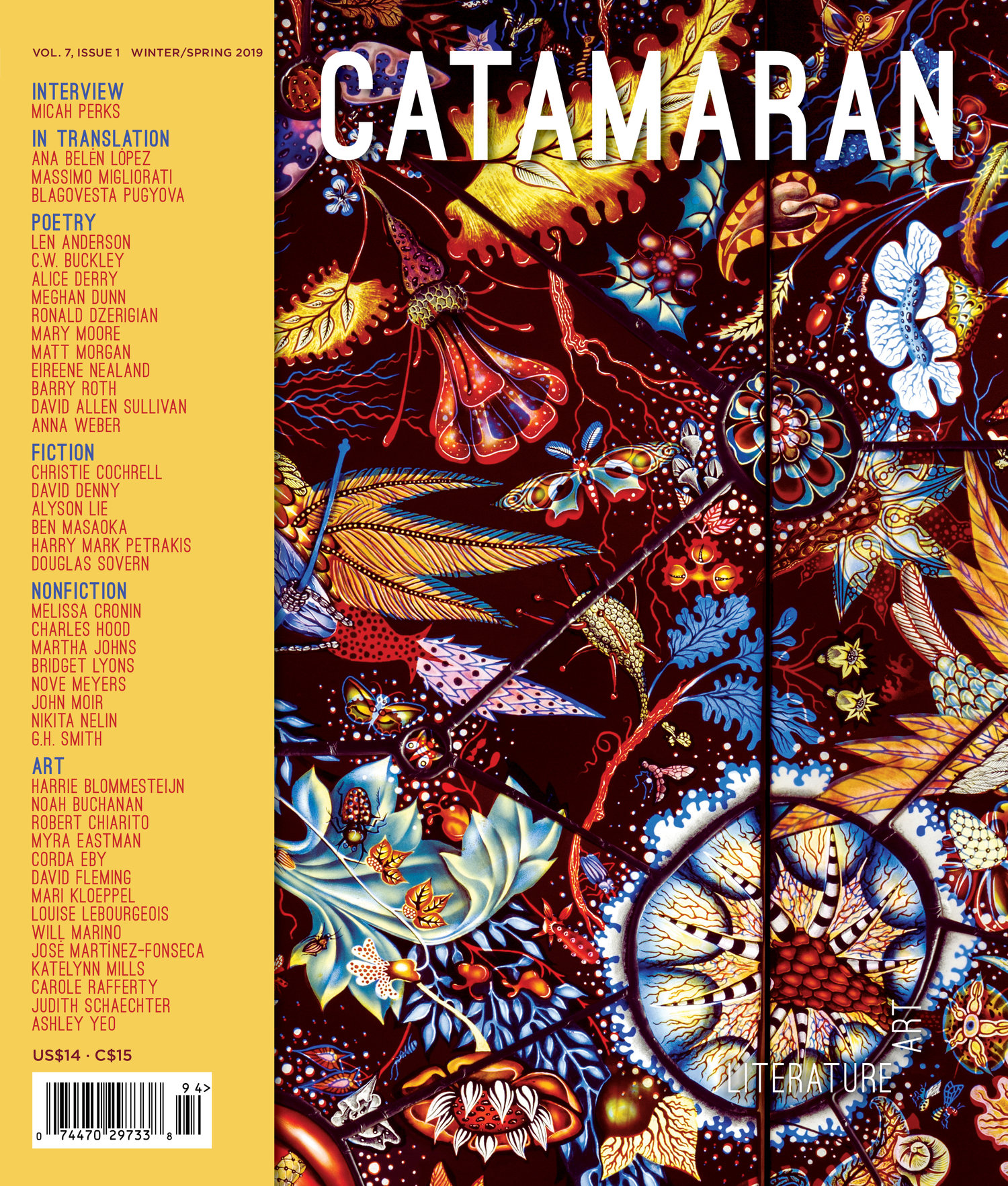 The New Domestic:An Essay for Catamaran Magazine - Vol. 7, Issue 1: Winter/Spring 2019