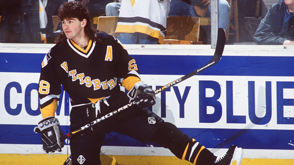 One of my all-time favs. The Jagr mullet!