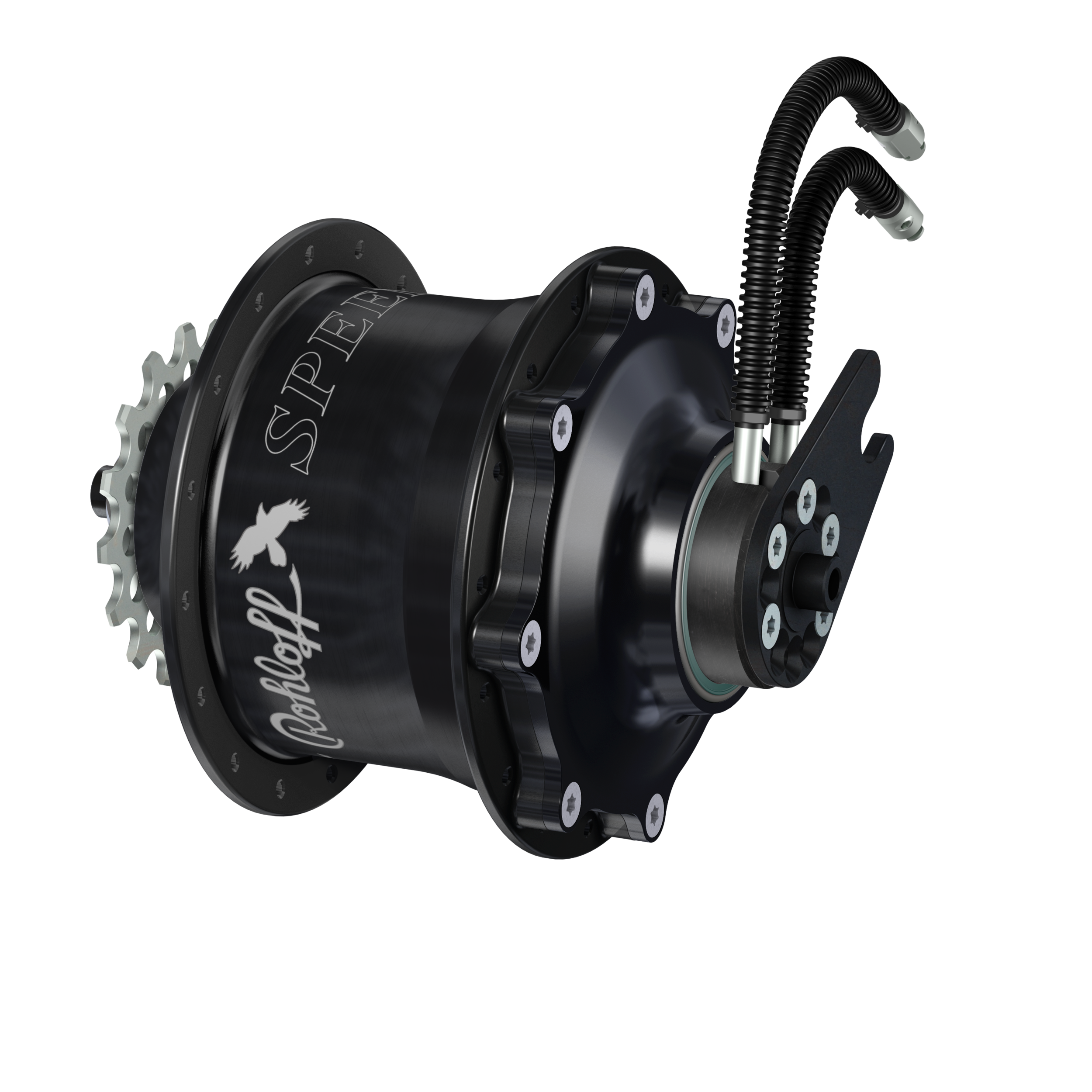 The Rohloff Speedhub 500 with 14 evenly spaced gears and disc brakes! A wheel that can be built up with no dish, providing a dramatic increase in strength and reliability. A perfect solution for many tandem riders!