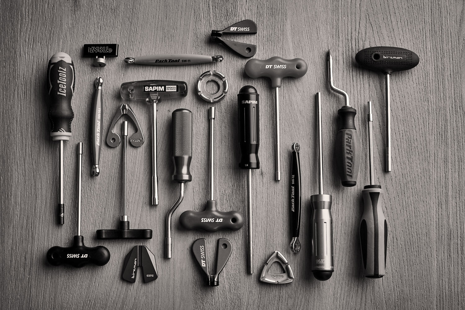 All the various tools needed to turn all the numerous nipple types available today.