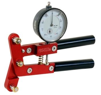 P&K Lie's spoke tension meter.