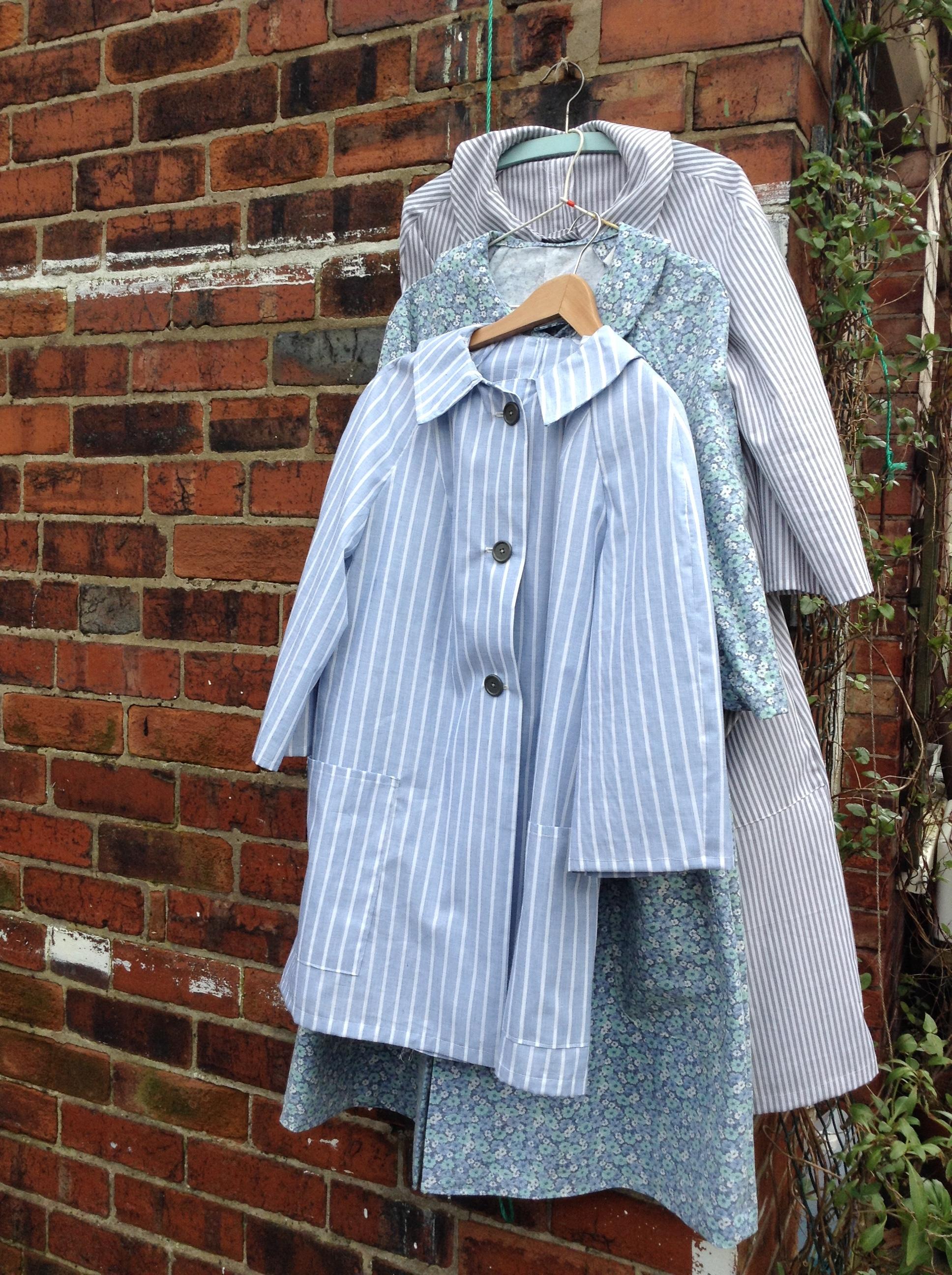 Work overcoats,  The Pajama Game