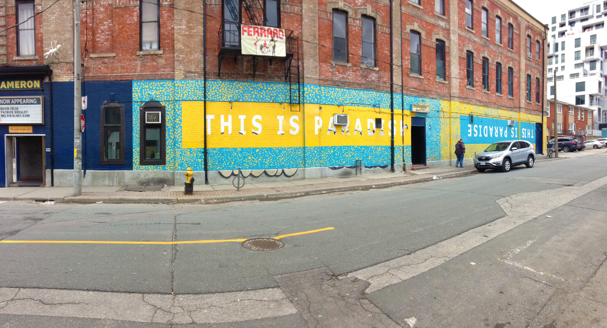 This wasn't in Graffiti Alley but definitely one of my faves
