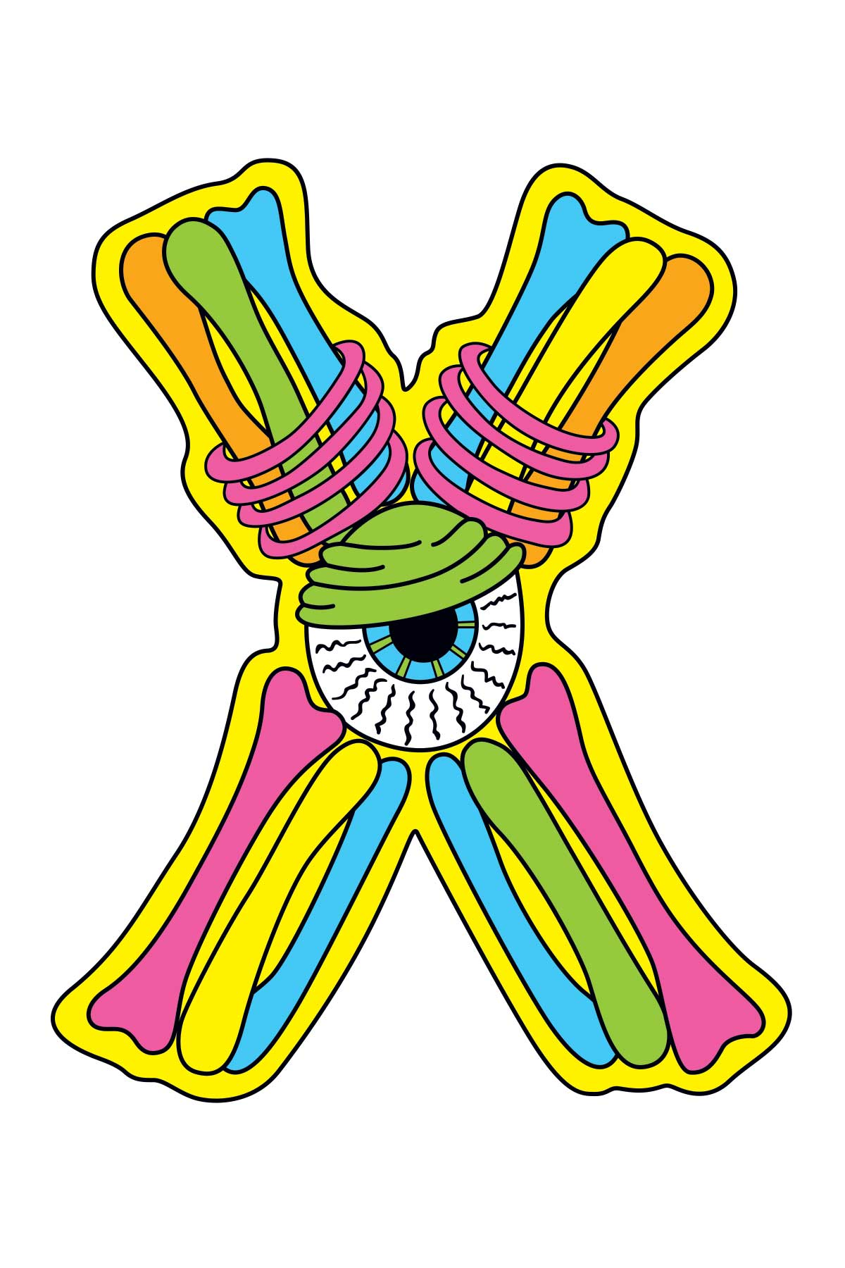 X is for Xavier's X-Ray