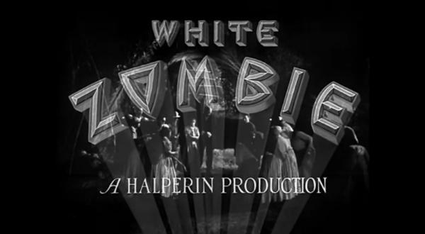 White Zombie, the film.  https://en.wikipedia.org/wiki/White_Zombie_(film)