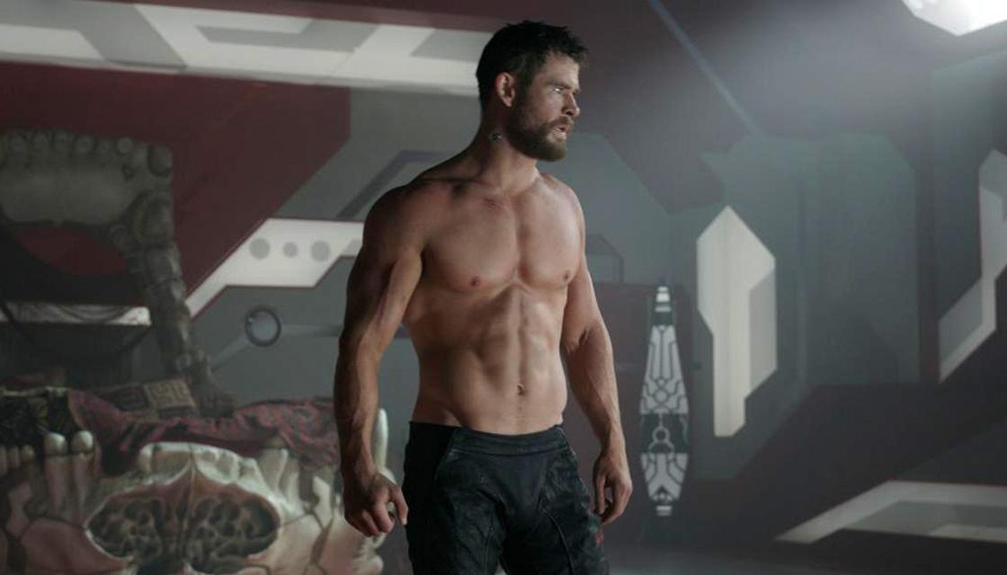 Off, like Thor's shirt