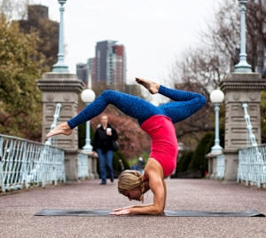 Meet your Yoga Around Town instructor, Meghan Rozanski B.  Click to read Meghan's bio.