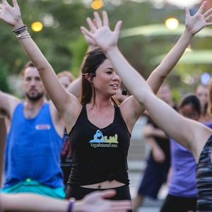 Meet your Yoga Around Town instructor, Maggie Walsh Deaver!  Click to read Maggie's bio.