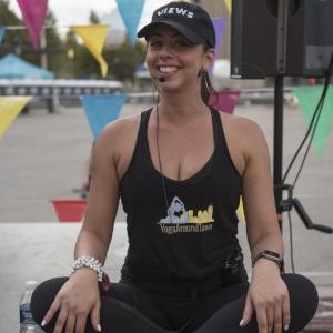 Meet your Yoga Around Town instructor, Jessie LaCosta!  Click here to read Jessie's bio.