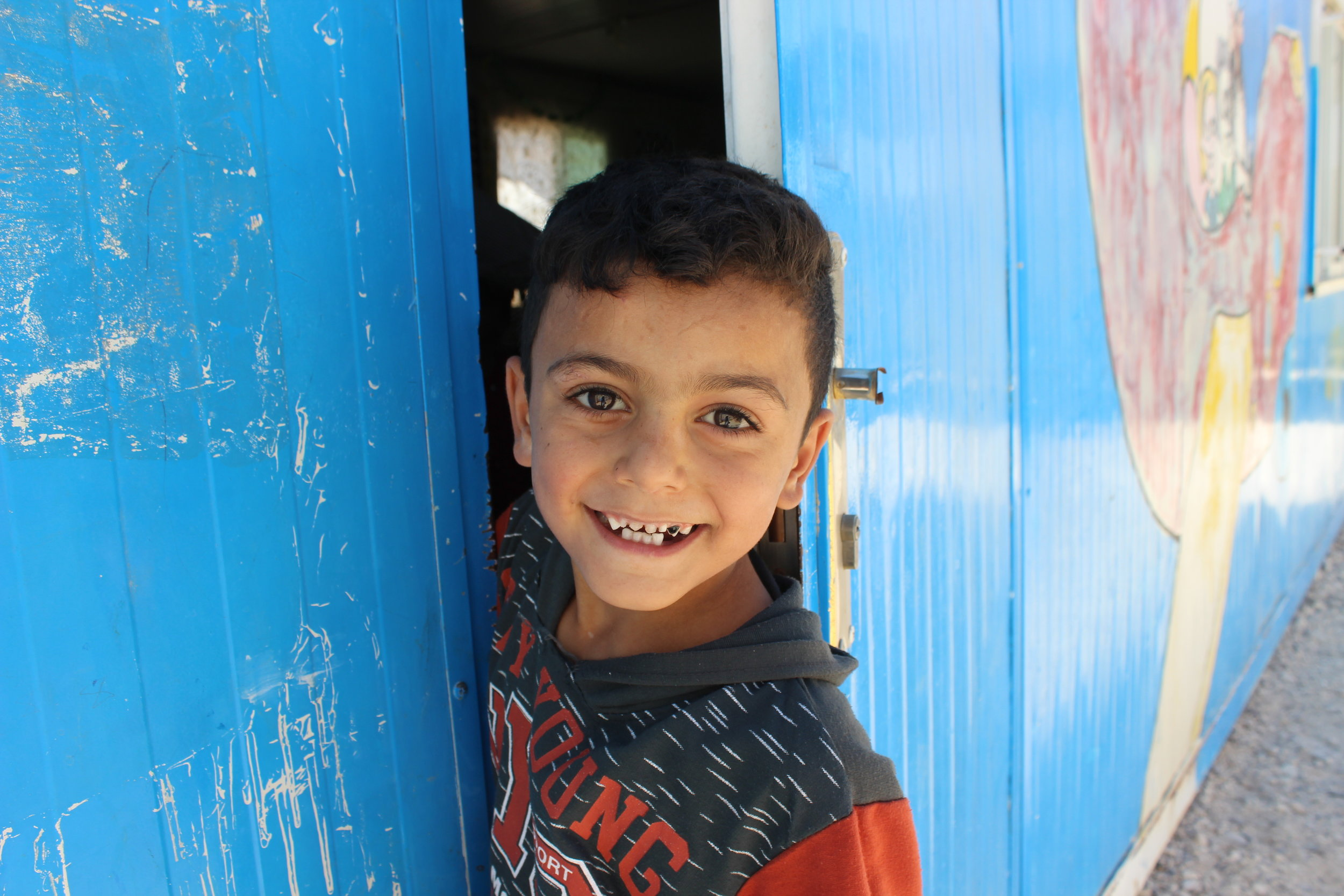 The Azraq School - The Syria Fund's flagship education program provides daily remedial education and enrichment programming to 110+ children in rural South Azraq, Jordan.LEARN MORE