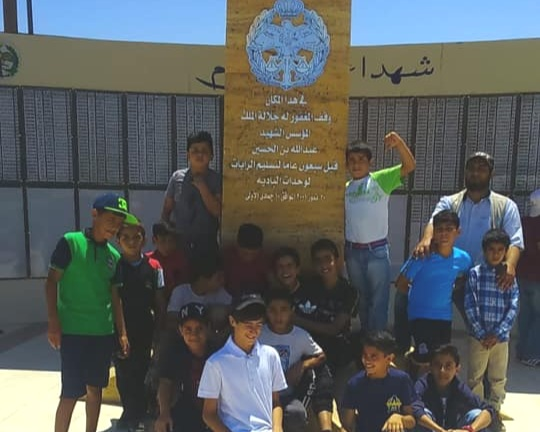 Local Military Memorial - 6th-grade students spent the day learning more about Azraq Town at a local military memorial and museum. This visit yielded an enriching historic and cultural experience for our students who learned more about the history of their town.