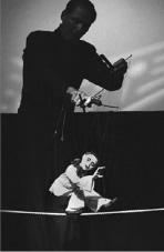 PIERROT & PHILLIP HUBER    PHOTO BY WARREN K WONG