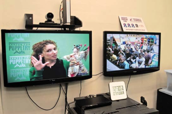 """- """"Distance Learning"""" and the Center for Puppetry Arts by Sara Burmenko"""