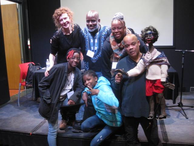Participants from Baltimore. From left to right: Valeska Populoh, Dirk Joseph, Azaria Joseph, Sequoia Joseph, Sheila Gaskins, and Schroeder Cherry.