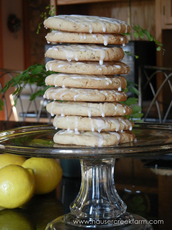 Lavender Laced Cookies