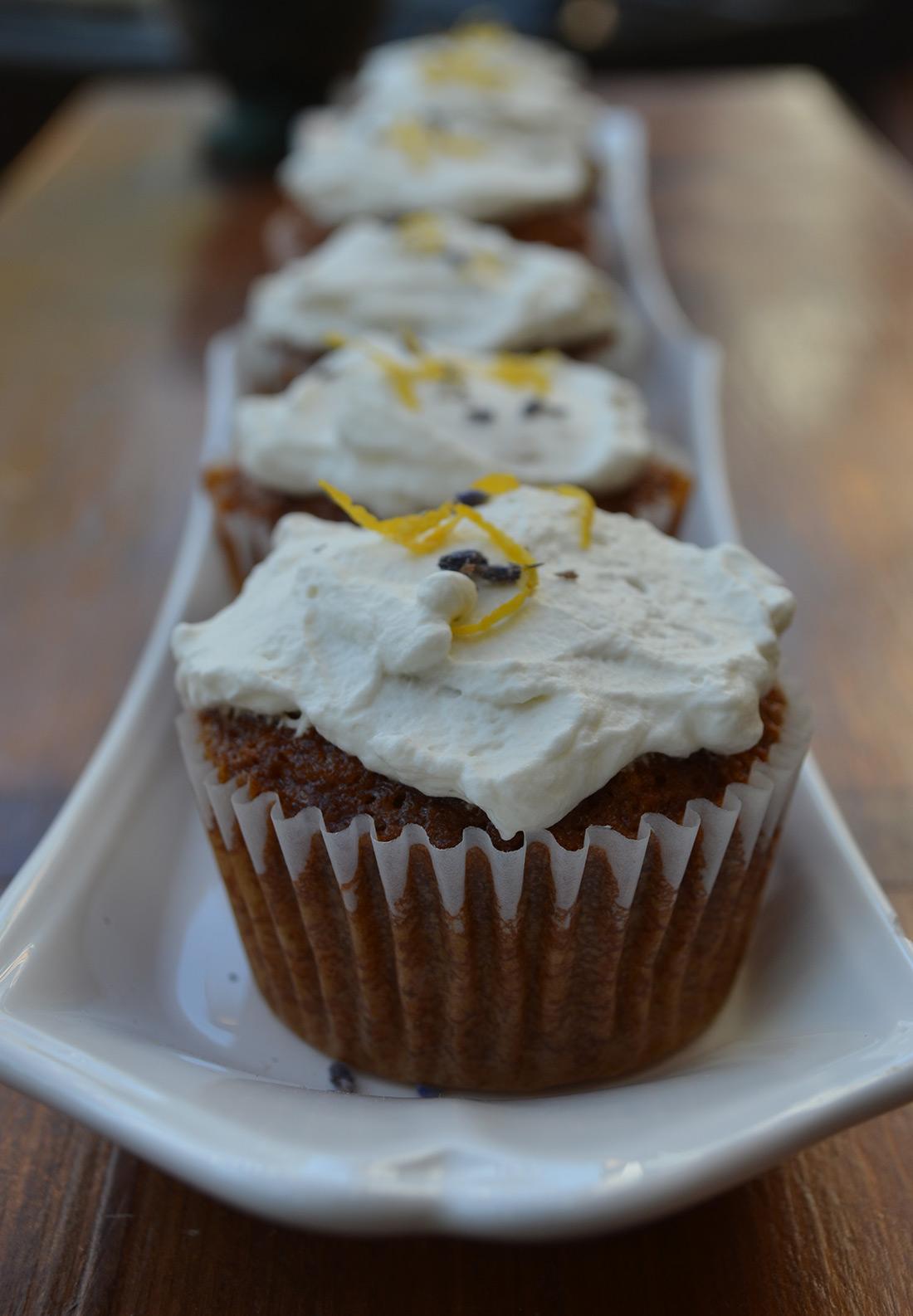 Lavender Ginger Cupcakes