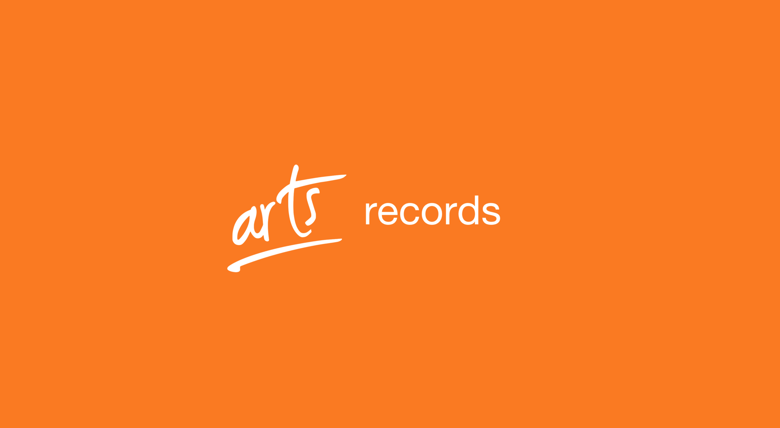 Arts Records is a small but perfectly formed record label