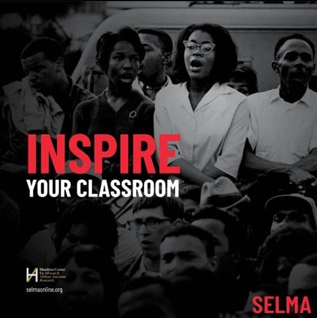 """The function of education is to teach one to think intensively and to think critically. Intelligence plus character – that is the goal of true education."" - Dr. Martin Luther King ?? We are proud to share lessons from Selma & the civil rights movement through @hutchinscenter & @teaching_tolerance's new platform: #SelmaOnline  For more info see link in bio!"