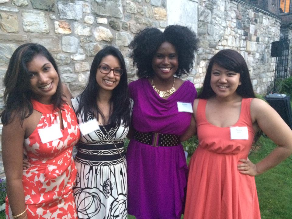 KF celebrates with Sadie Nash, an organization that cultivates leadership in young women.