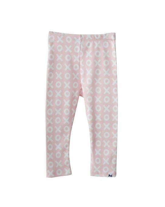 Pink XO leggings:  Little Citizens